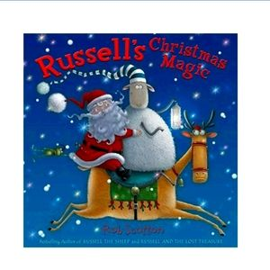 Russell's Christmas Magic Book Hardcover Rob Scott